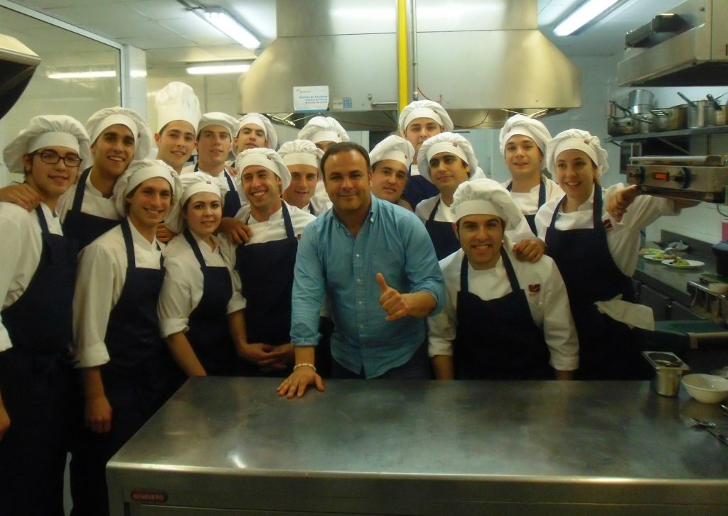 Visita las instalaciones de nuestra escuela de hosteler a y disfruta de la masterclass de ngel - Escuela de hosteleria casa de campo ...